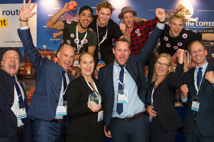 """What again? CPH wins """"best stand"""" at World Routes 2018"""