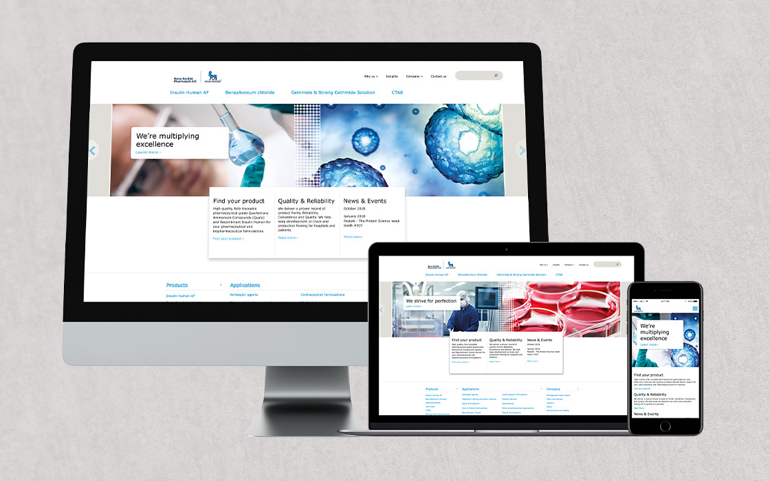 CBC Novo Nordisk Pharmatech Website