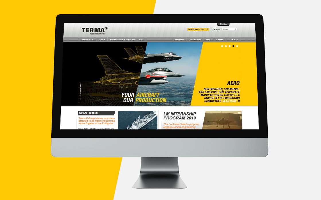 CBC Terma Allies in innovation Landing page